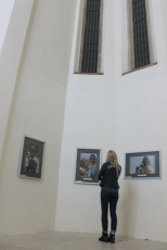 The MIRO Gallery is accommodated by the Renaissance era Church of St. Rochus (Photo: Centre Narovinu)