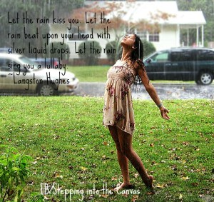 standing-in-the-rain langston hughes quote
