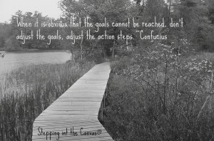 taking new steps