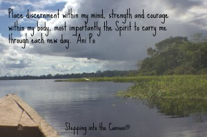 Spirit to carry me