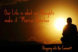 OUr thoughts make it