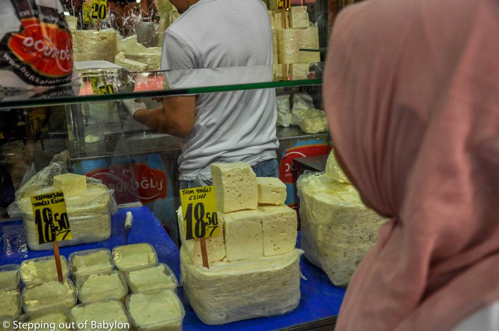 Cheese is a constant presence in the Turkish cuisine, lying in dozens of variants