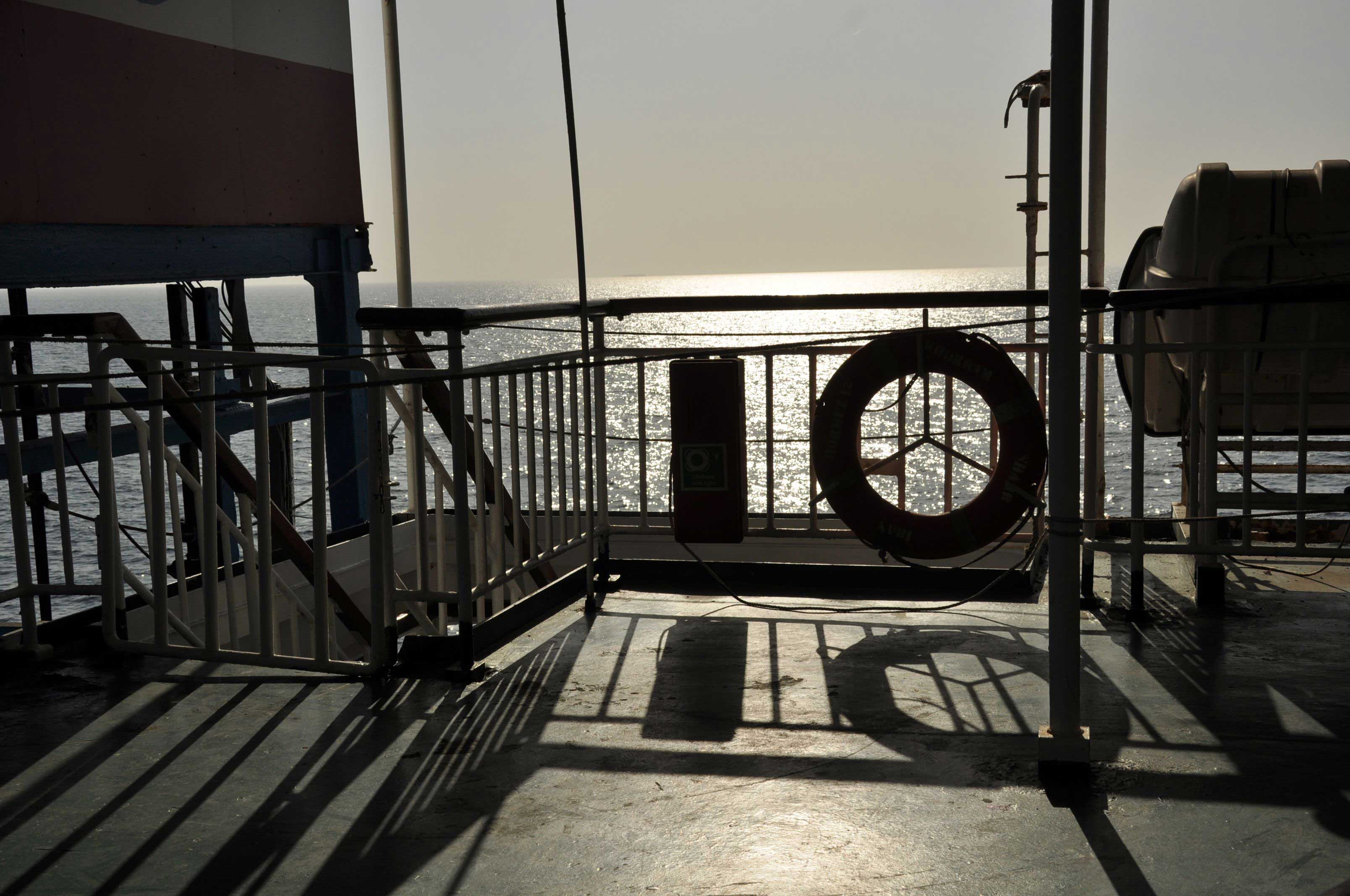 How to cross the Persian Gulf by ferry. From Bandar Abbas to Dubai