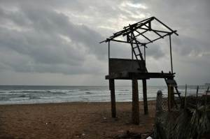Uppuveli Beach, Trincomalee, and the rain