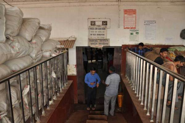 Dimapur: Train Station: luggage Room