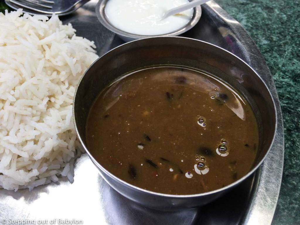 Dal made from black dal...one of my favourits. Muktinath Takali Restaurant
