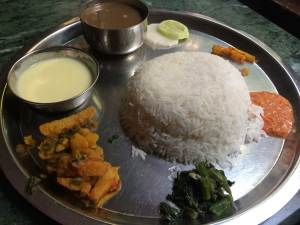 … In search of the best dal bhat in Kathmandu