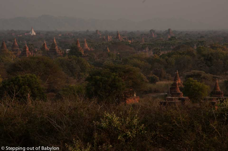Sunset at Bagan, Myanmar