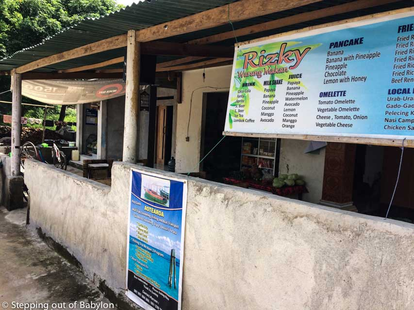 Rizkey Warung Makan... good food including Sasak specialities