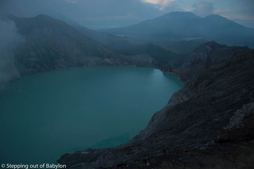 Kawah Ijen... the most acidic lake in the world
