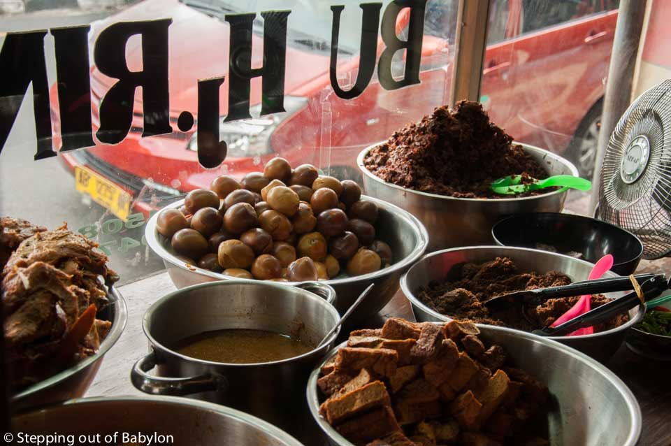 where to eat Yogyakarta...Gudeg Bu Hj. Rini