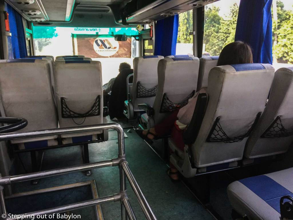 How to go from Medan to the Airport: DAMRI bus