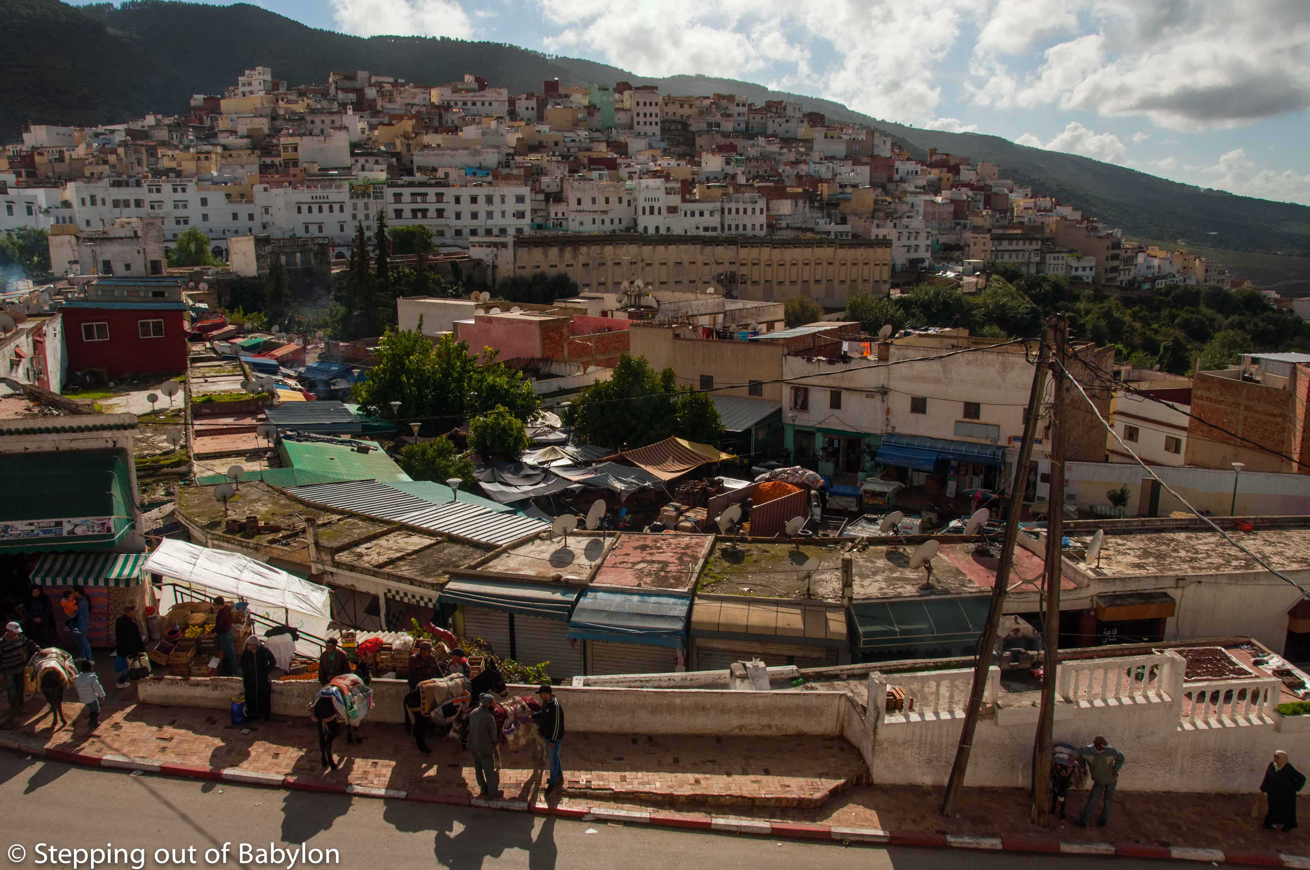 Mulay Idriss and the countryside lifestyle
