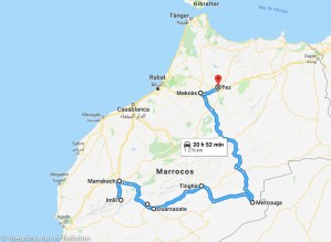 20 days in Morocco: itinerary & costs