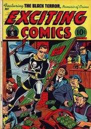 Exciting Comics No. 49