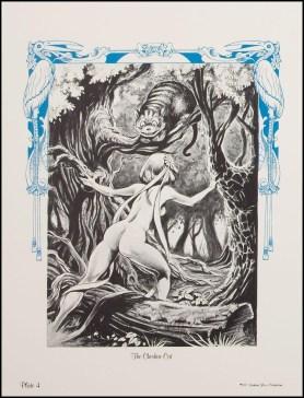 Alice in Wonderland Frank Brunner Plate 4