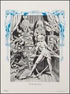 Alice in Wonderland Frank Brunner Plate 6