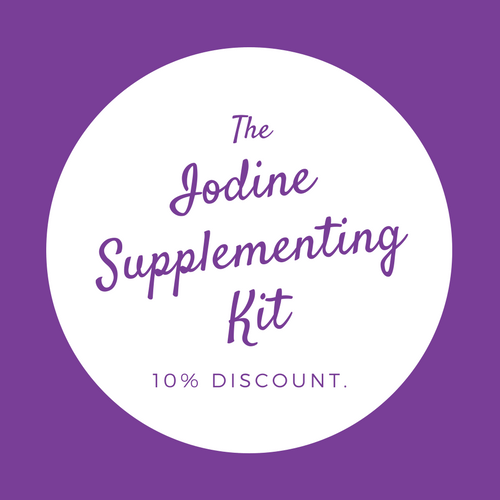 Iodine Supplementing Kit - 50 mgs 30 Tab