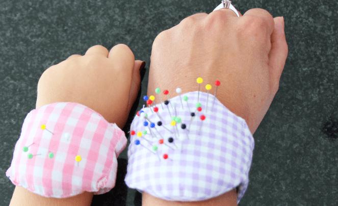 Nadelkissen fürs Handgelenk