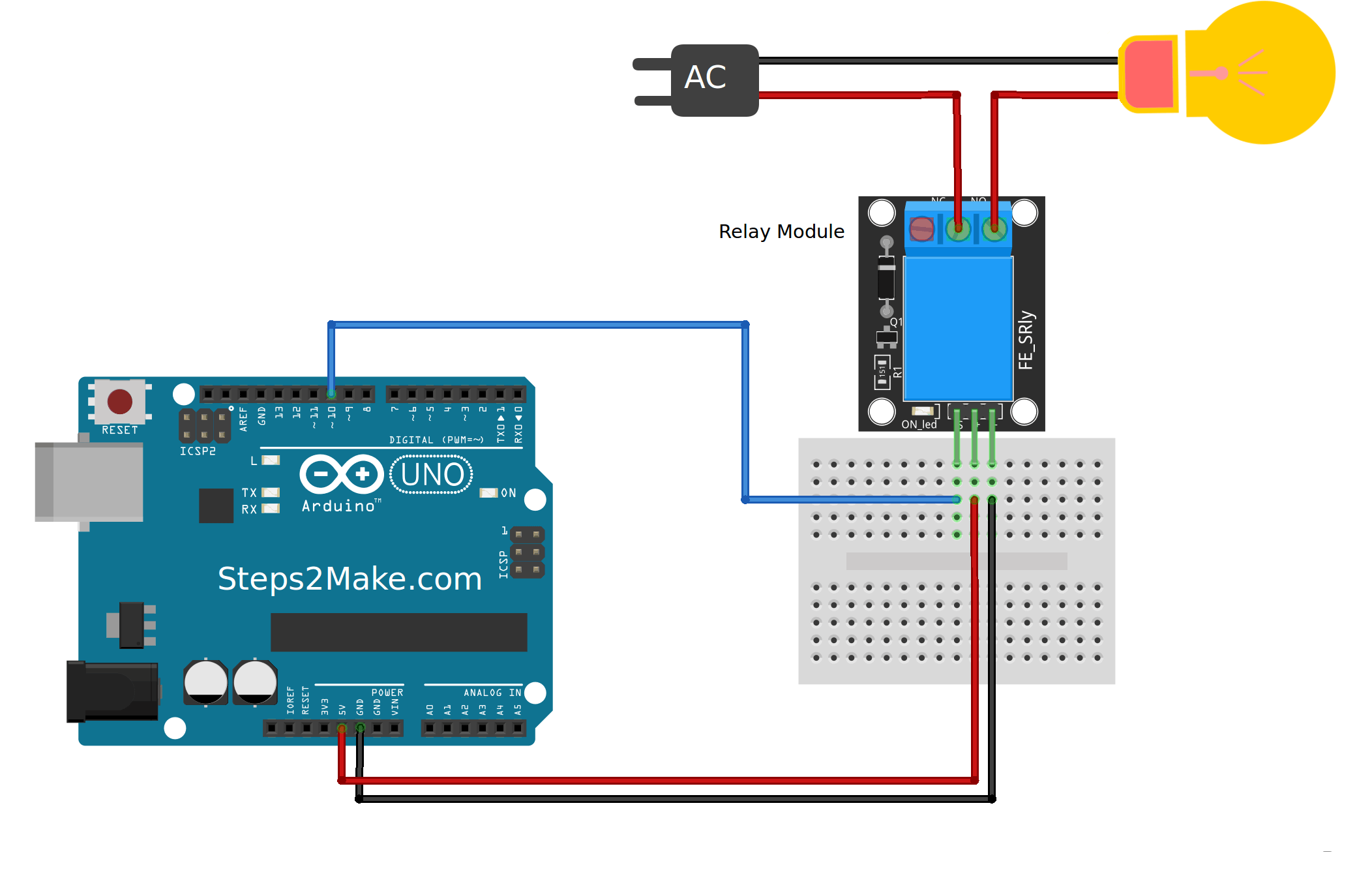 Arduino 5V Relay Module KY-019