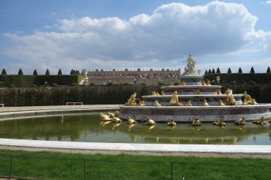 Latona's fountain and parterre