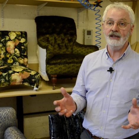 Upholstery Craft Training Centre   STEP Tenant   Business Premises   Unit