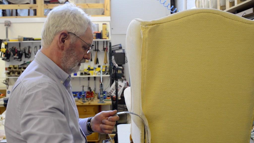 Upholstery Craft Training Centre   STEP Tenant   Business Premises   Workshop