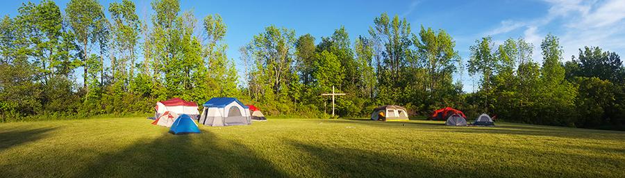 Deeper Camp site