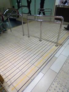 大丸神戸店 地下スロープ