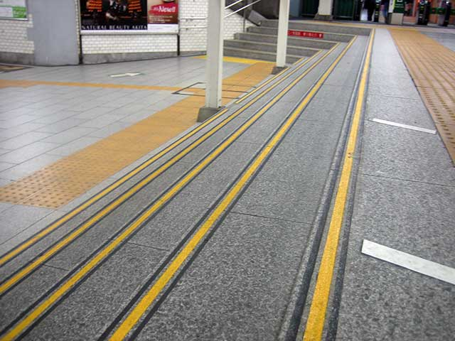 鎌倉階段溝樹脂