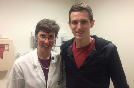 Ryan and Dr. Weber