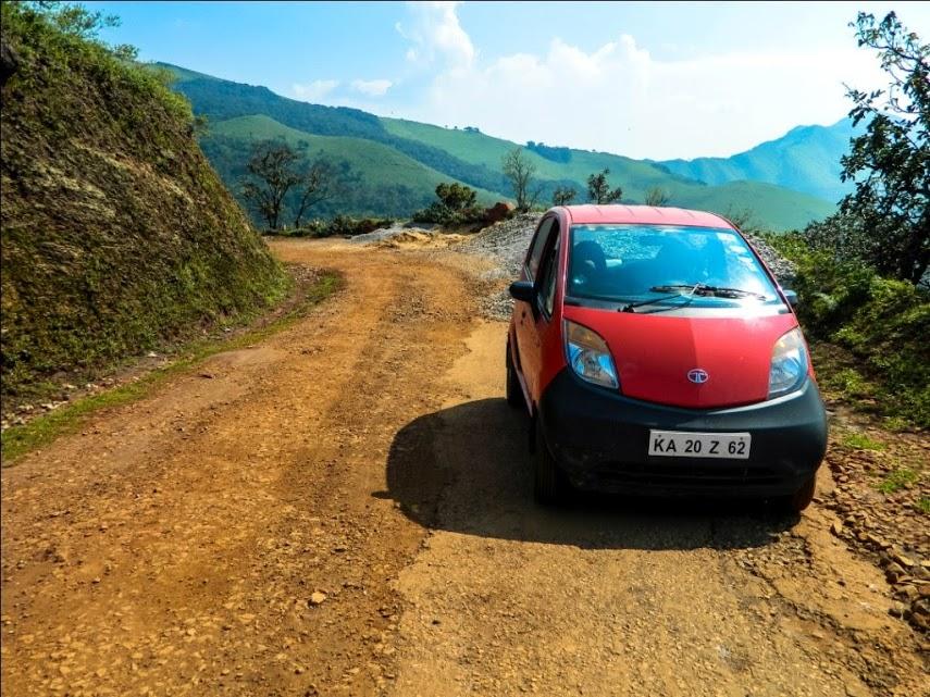 Tough Road to Baba Budan Giri