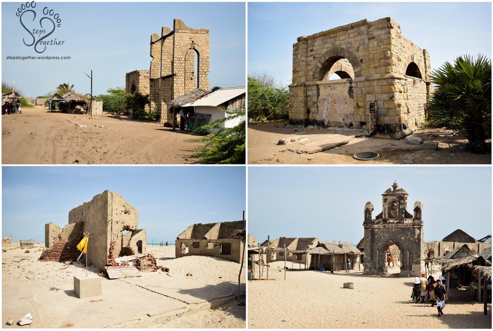 Ruins of Dhanushkodi