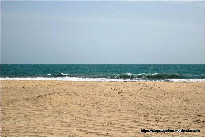 Pristine Blue Waters of Indian Ocean