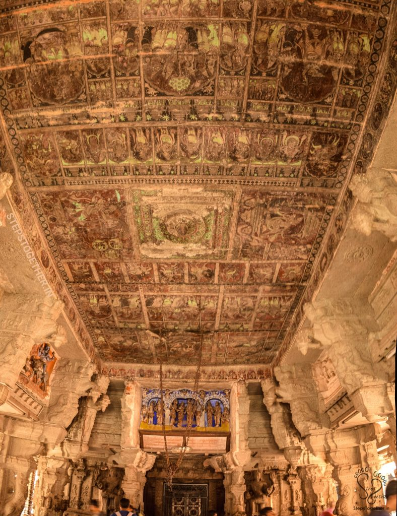 Ancient Paintings on the Ceilings