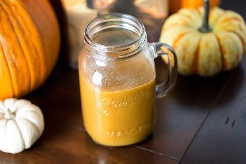 pumpkin recipes for pumpkin smoothie