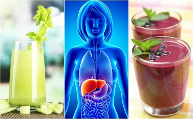 Cleanse Your Liver with These 4 Fruit and Vegetable Smoothies