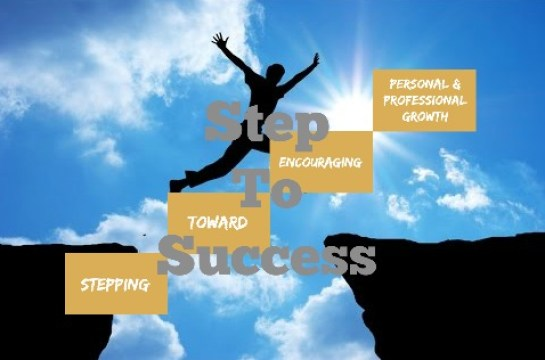 Step Toward Success Jump