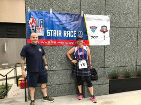 image of steve at LA World Police Fire Games 2017