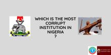 most corrupt institution in Nigeria