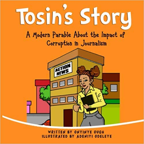 Children's book about corruption in journalism
