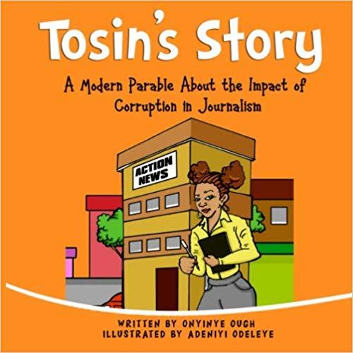 Children's book about corruption in journalism
