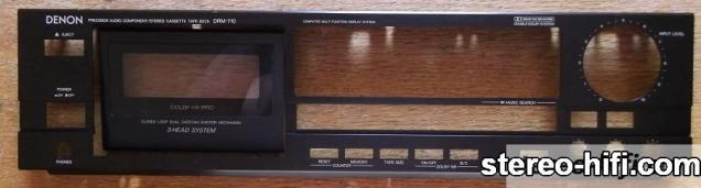 Denon DRM-710 front after cleaning
