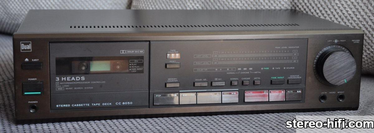 DUAL CC 8050 front