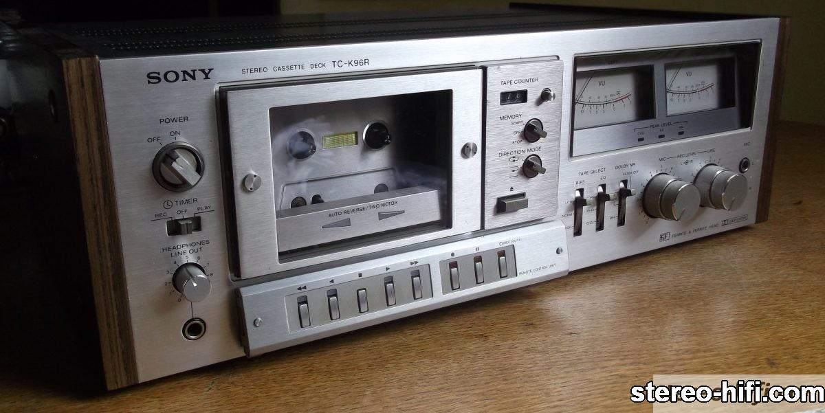 Sony TC-K96R front