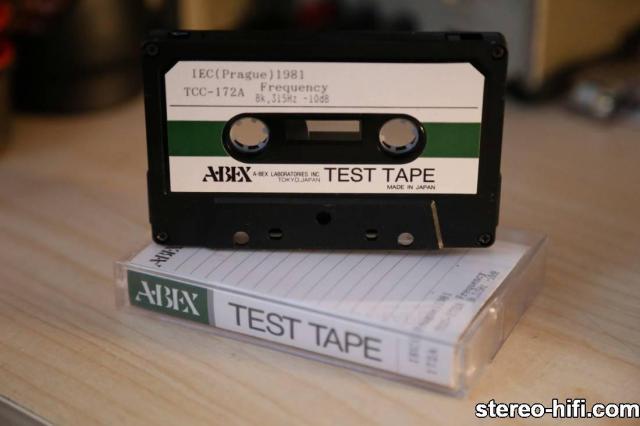 Abex 172A 1 Service tapes   Kasety serwisowe