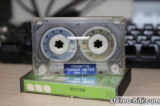 Cassette Torque Meter 811CTM PHILIPS 2 Service tapes   Kasety serwisowe