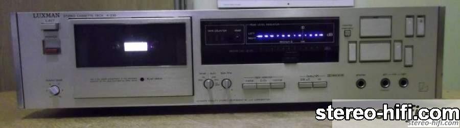 Luxman K-230 front