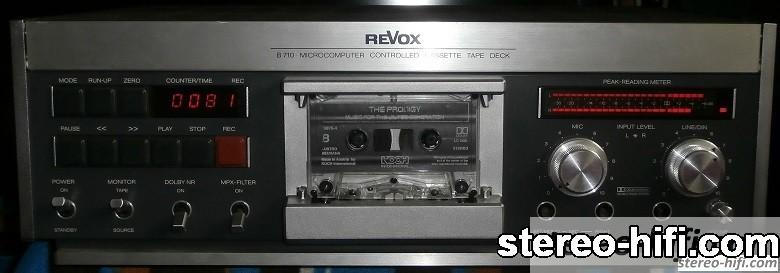 Revox B710 front
