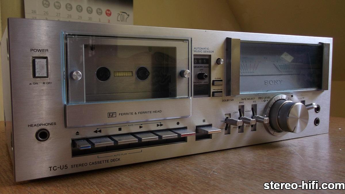 Sony TC-U5 front